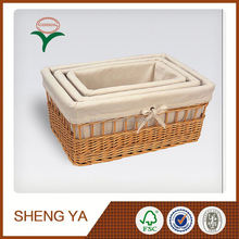Hot New Products For 2015 Wicker Pet Basket / Bed