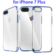 New Products Case for iPhone 7 Plus Crystal TPU, Baseus Protective Case for iPhone 7 Case TPU PC