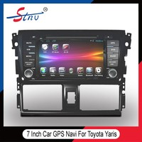 Android 2 Din Car GPS DVD For Yaris Toyota With OBD/ADAS/Radio/WIFI