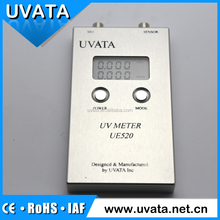 Uvata UVA and UVB uv intensity irradiation meter with easy operation
