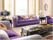 Dubai Romantic funriture antique french style sofa neoclassic furniture