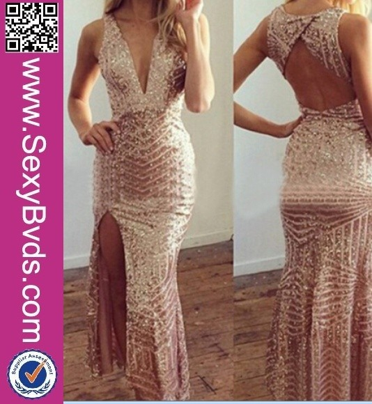 Accept paypal wholesale fashion short front long back prom dress