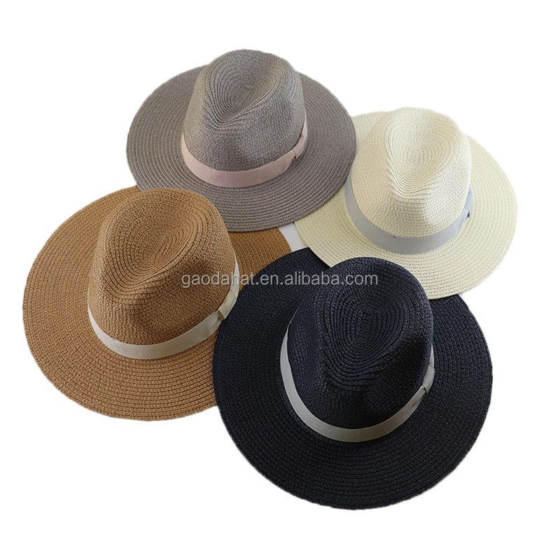 Wholesale Cheap Summer Panama Paper Straw Hat