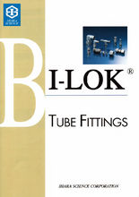 "Powerful and High-precision plumbing parts for hydraulic press machine is ""BI-LOK"""