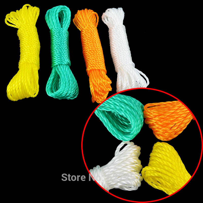 Polypropylene Outdoor Clothes Hanging Rope Folding line