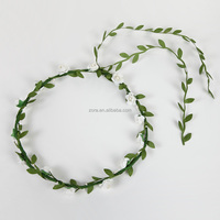 Silk Artificial floral party head wreath