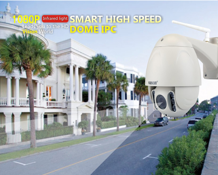 WANSCAM 1080P 5XOptical Zoom Dome Wireless Camera HW0045