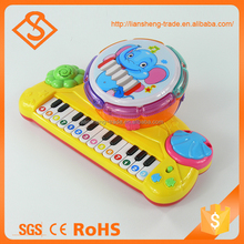 Multifunction plastic piano instrument baby musical toys for educational