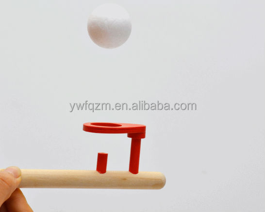 promotional wooden floating kids toy ball skip toy ball