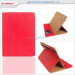 With card slot universal pu leather tablet case for ipad