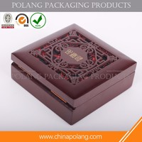 wood texture storage box, wood texture garden storage box Wooden jewelry box packaging exquisite gift packaging
