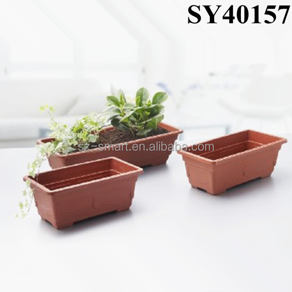cheap garden rectangular plastic plant pots buy garden rectangular