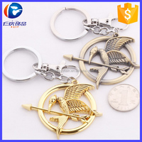 Wholesale YIWU The hunger games key fob