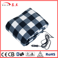 12v heated travel blanket for car