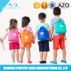 cute sackpack polyester drawstring bag/drawstring backpack/foldable nylon bag