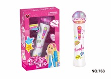 Recording voice multifunction microphone soft music toy