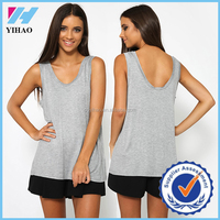 China wholesale cotton tops picture of girls cotton tops