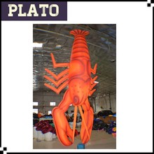 Giant artificial inflatable lobster model for advertisement and promotion