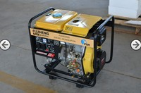 diesel power generator used, KAMA&HONDA engine, silent portable generator with cheap price, home and garden use, OEM