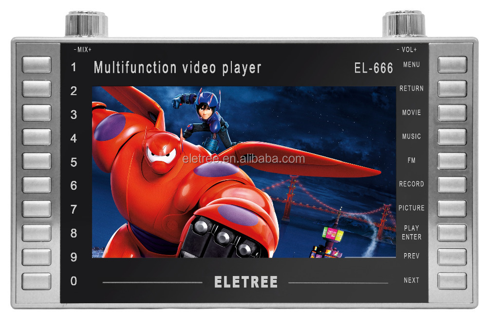 Wholesale Eletree 7inch Mp4 Player LCD Display