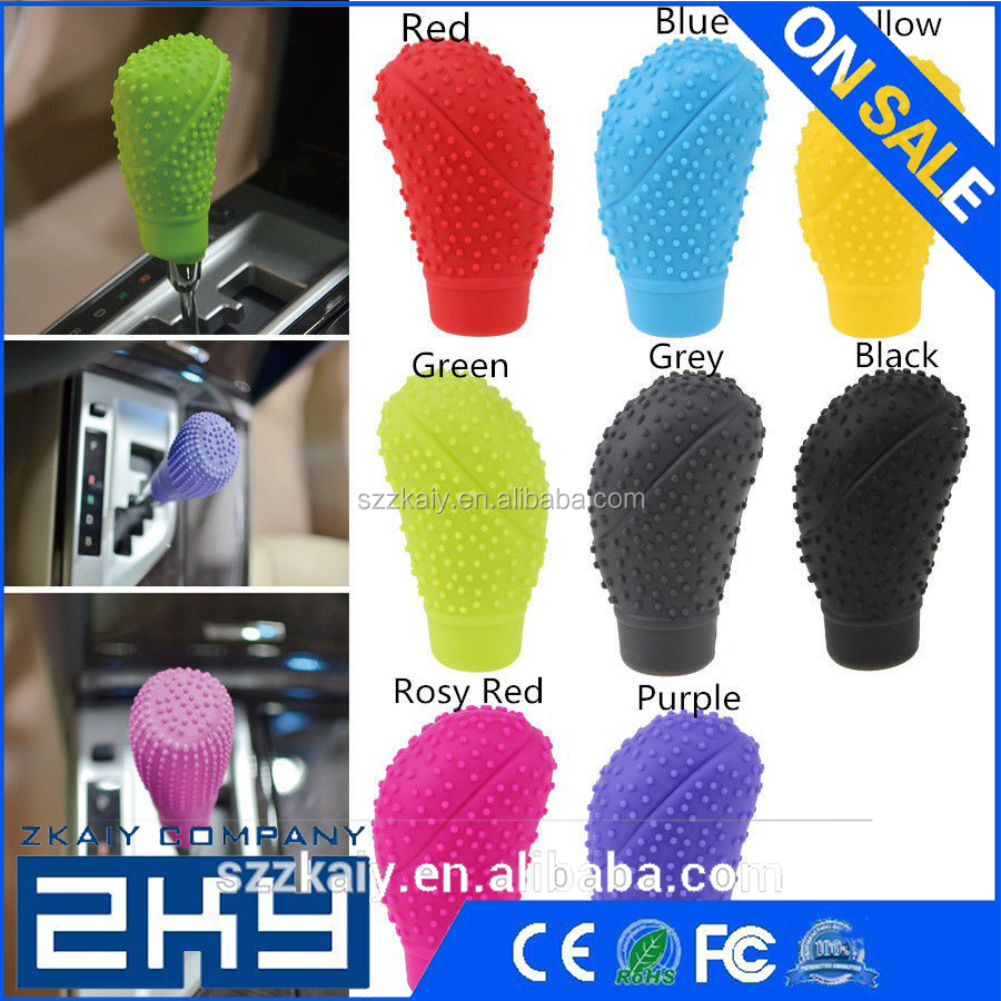Silicone Gear Shift Knob Boot Cover Universal Car Truck Protector Sleeve For Car