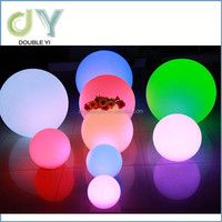 LED Flashing Lighting Ball Plastic Christmas Ball With LED Lights