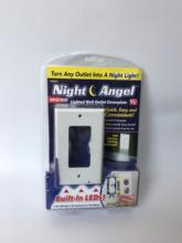 LED Night Lights Square White SnapPower Guidelight Outlet Coverplate Night Angel