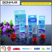 2014 the latest design various type customized oem high quality clear plastic boxes for cell phone case wholesale supplier