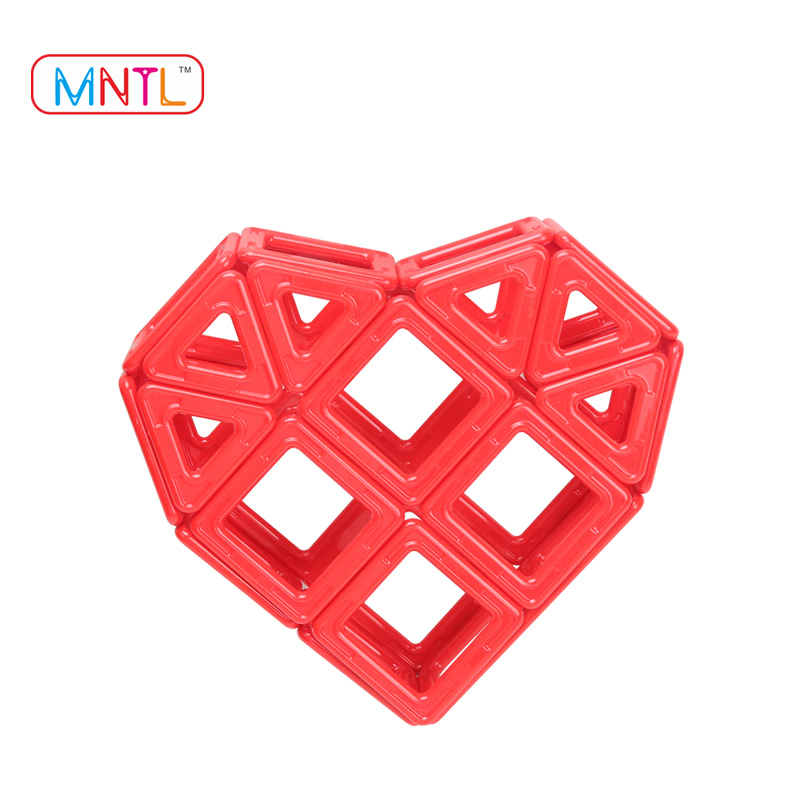 Role Play&Pretend Playing Toys for Kindergarten/Magnetic Assemble Building Blocks /Educational Learning Thinking Creative Tiles
