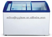 Poultry Equipment Island Freezer and Commercial Display Fridge for Frozen
