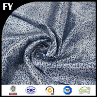 China manufacturer direct digital printed polyester satin curtain fabric