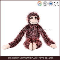 plush hanging monkey/swing monkey toy/long leg monkey plush toys