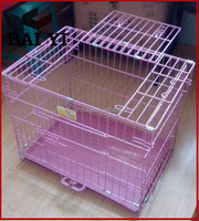 Colorful easy clean dog cage