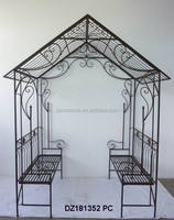 Wrought Iron Garden Pavilion Gazebo