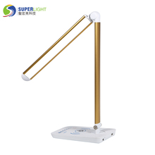 wireless charge touch sensor table reading lamps