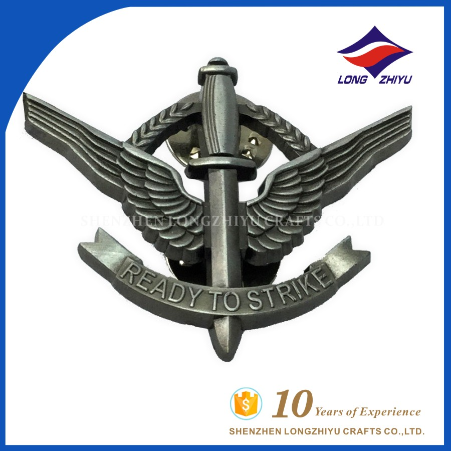 Best price enamel pin id pilot wing badge