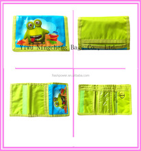 Polyester Custom Print Personalized Kids Wallets