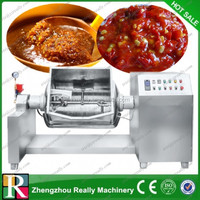Food Processing Machinery Rotating Jacket Kettle Cooker