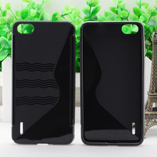 S Line tpu soft phone case for Huawei Honor 6