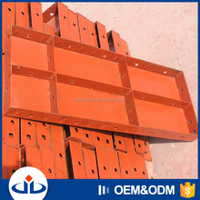 High Efficiency Concrete Formwork Q235 Steel Plate Concrete Wall Forms For Sale