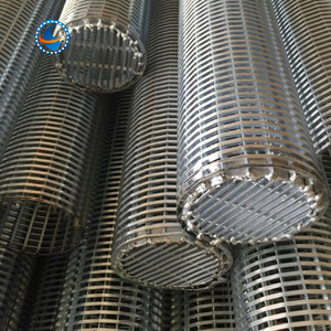 professional production 304 stainless steel ss wedge wire screen filter pipe