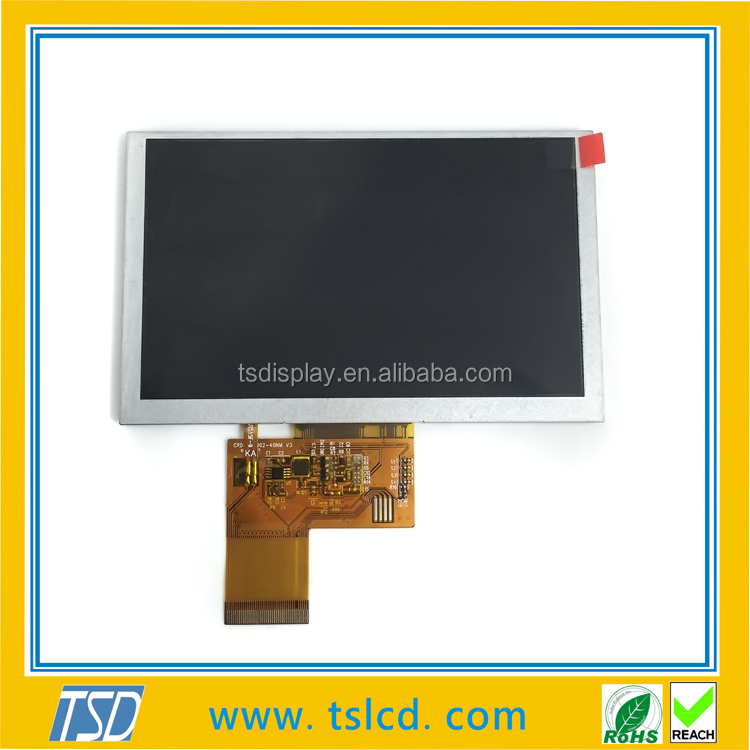 5.0 inch tft lcd High Resolution LCD Module Display with capactive touch