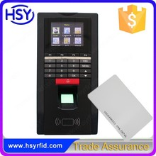 F20 Biometric Fingerprint access control with rfid card function