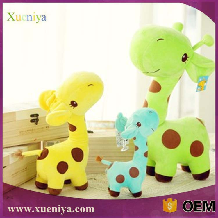 Promotional Mini Plush Giraffe Animals Toys Best Selling Toys 2013
