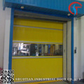 Industrial vertical high speed lift door