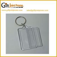 Cheap Clear Plastic Acrylic Keychain