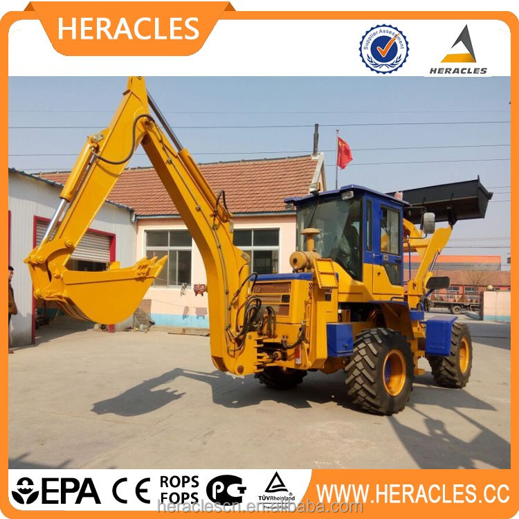 Heracles mini tractor backhoe loader for sale