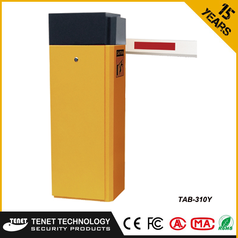 car parking barrier security barrier gate with fold , fence and straight arm