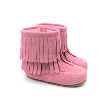 Winter moccasin shoes white fancy cool rubber kids boots for girls shoe