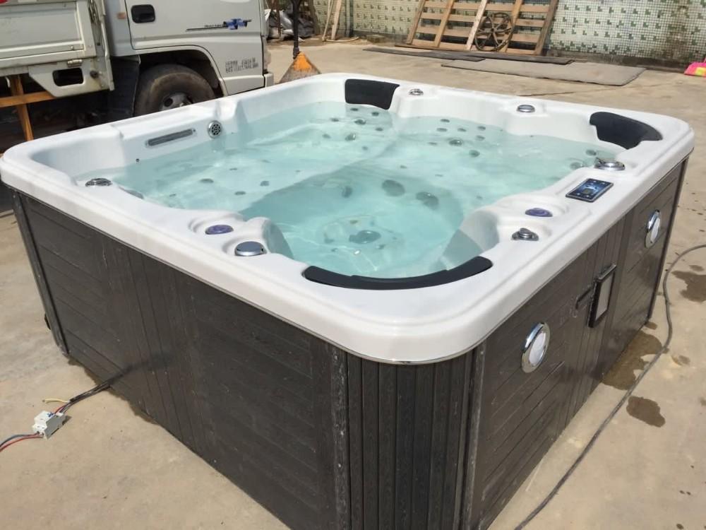 delux outdoor spa whirlpool portable bathtub spa whirlpool. Black Bedroom Furniture Sets. Home Design Ideas